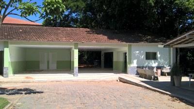 Espaço Alunos do Campus Bom Jesus – Área de convivência e sala do grêmio (2016). Origem da Receita: LOA (R$ 118.990,30).
