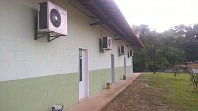 Bloco com quatro Salas de Aula do Campus Cambuci (2016). Origem da Receita: LOA (R$ 287.342,93).