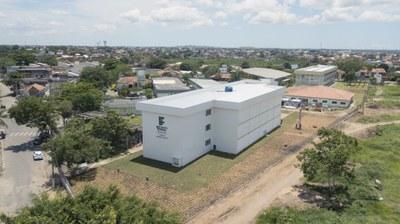 Bloco com 16 Laboratórios do Campos Guarus (2018). Origem da Receita: Recurso Extraorçamentário SETEC/MEC (R$ 3.450.909,93).