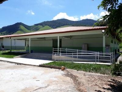 Bloco com 6 salas de aula e 2 salas pedagógicas do Campus Avançado Cambuci (2018). Origem da Receita: LOA (R$ 27.466,84); Emenda Parlamentar (R$ 472.721,81).
