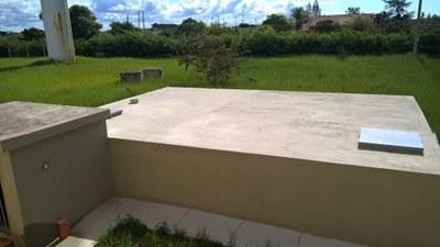 Reforma de cisterna no Campus São João da Barra (2019). Valor R$ 52,039,27.