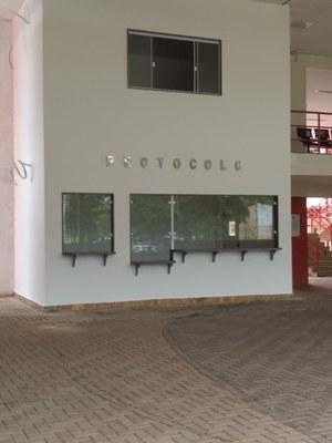 Construção de protocolo e reforma nas calhas metálicas no Campus Santo Antonio de Pádua (2019). Valor: R$ 143.730,93.