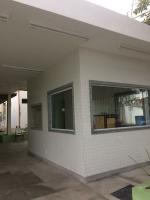 Construção de portaria voltada para a 28 de março no Campus Campos Centro (2020). Valor R$: 240.687,41.