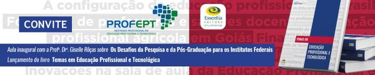 """21/08/19 - Lançamento do livro """"Temas em Educação Profissional e Tecnológica"""" 2"""