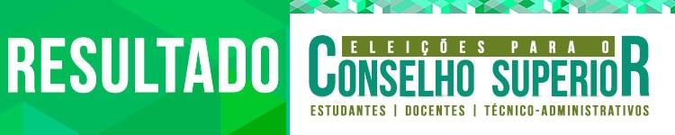 Apurados os votos da eleição do Consup