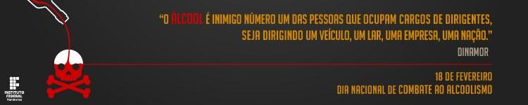 Banner Dia Nacional de Combate ao Alcoolismo (versão campi)