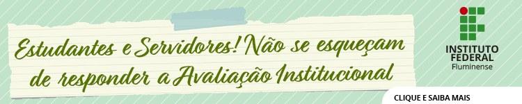 Avaliação Institucional continua disponível para contribuições de estudantes e servidores 2