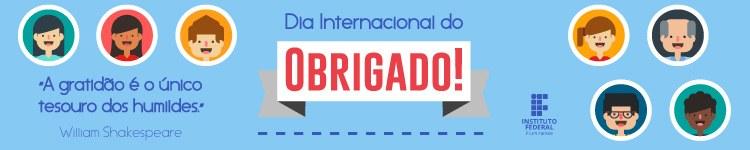 Banner Dia Internacional do Obrigado (versão campi)