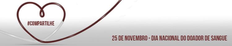 Dia Nacional do Doador de Sangue - 25 de novembro