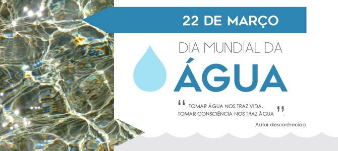 Banner Dia Mundial da Água