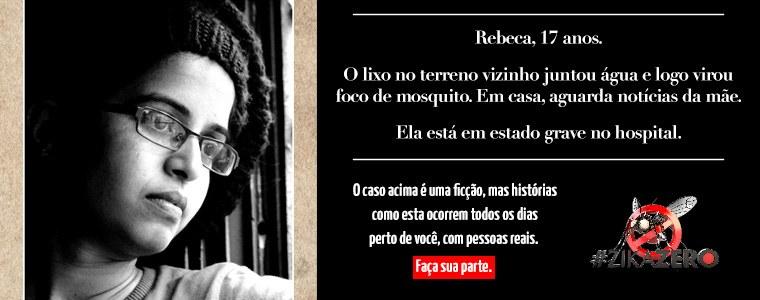 Banner Campanha Dengue - Rebeca