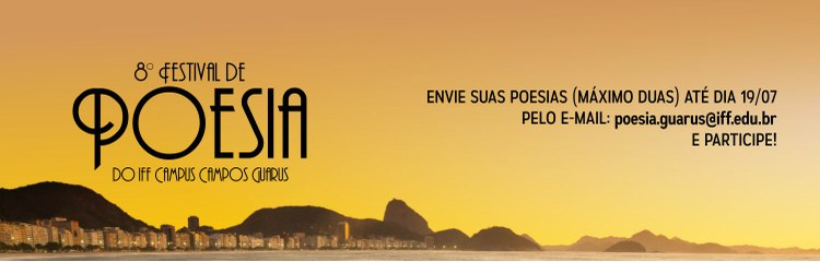Campus Guarus abre inscrições para o VIII Festival de Poesia