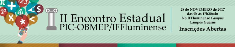 Campus Guarus recebe II Encontro Estadual PIC-Obmep