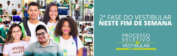 Candidatos ao IFF participam da 2ª fase do Vestibular 2018 neste fim de semana