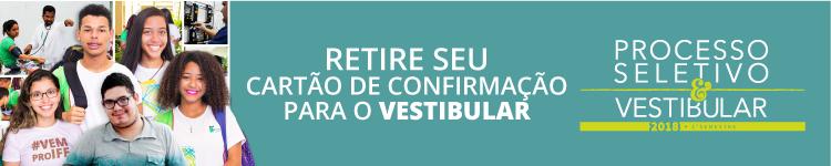 Candidatos ao Vestibular devem retirar Cartão de Confirmação