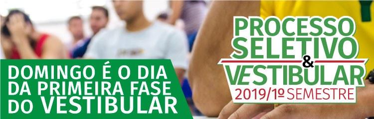 Candidatos participam da 1ª fase do Vestibular 2019 do IFF