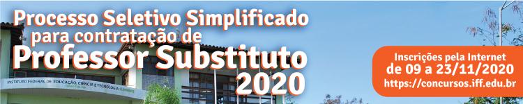 IFF lança edital para contratação de professores substitutos 2