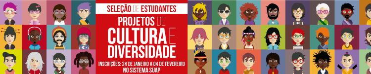 IFF seleciona estudantes bolsistas e voluntários para Projetos de Cultura e Diversidade 2