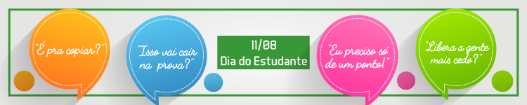Banner Dia do Estudante (versão campi)