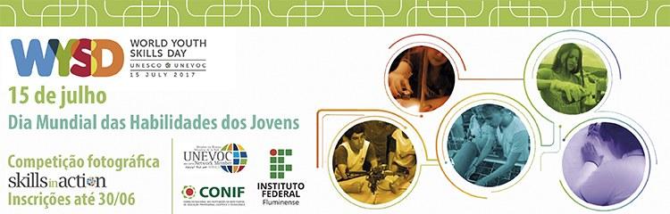 Dia Mundial das Habilidades dos Jovens está no calendário da Rede Federal
