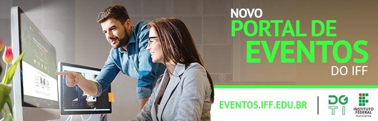 Diretoria de Tecnologia da Informação lança Portal de Eventos do IFFluminense