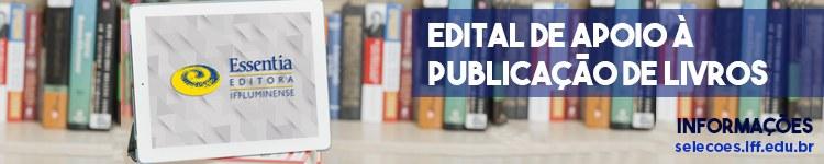 Essentia Editora abre oportunidade para publicação de livros 2
