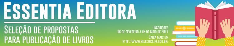 Essentia Editora divulga editais para publicação de livros