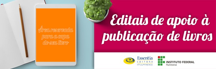 Essentia Editora lança edital de apoio à publicação de livros 1
