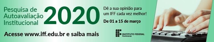 Estudantes e Servidores podem avaliar estruturas, ações e serviços do IFF 2