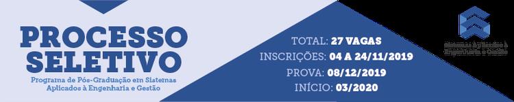 IFF abre inscrições para Mestrado em Sistemas Aplicados à Engenharia e Gestão 2