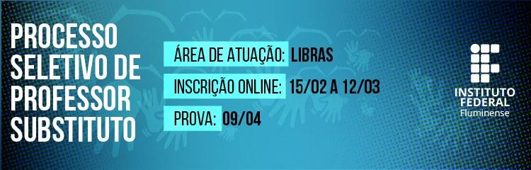 IFF abre vaga para contratação de professor substituto em Libras