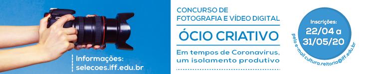 IFF lança Concurso de Fotografia e Vídeo Digital 2