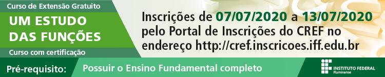 IFF oferta Curso de Extensão online sobre Estudo de Funções Matemáticas 2