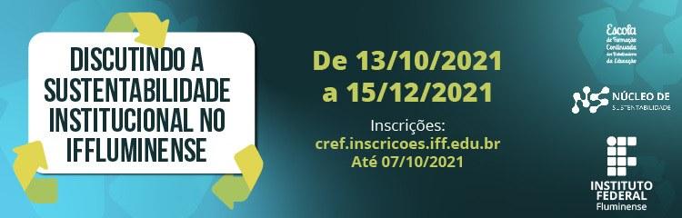 IFF promove curso sobre sustentabilidade institucional 1