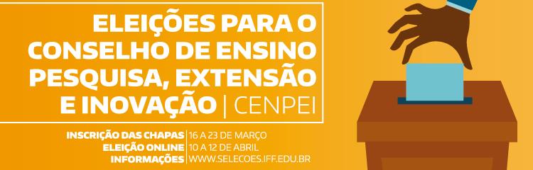 IFF realiza eleição para o Conselho de Ensino, Pesquisa, Extensão e Inovação