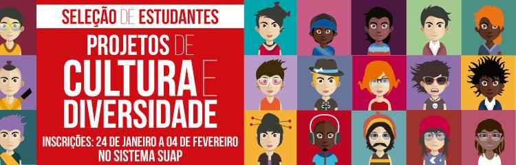 IFF seleciona estudantes bolsistas e voluntários para Projetos de Cultura e Diversidade 1