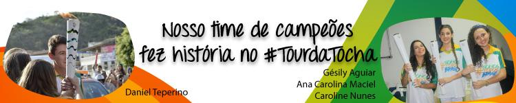 Nosso time de campeões fez história no #tourdatocha (campi)