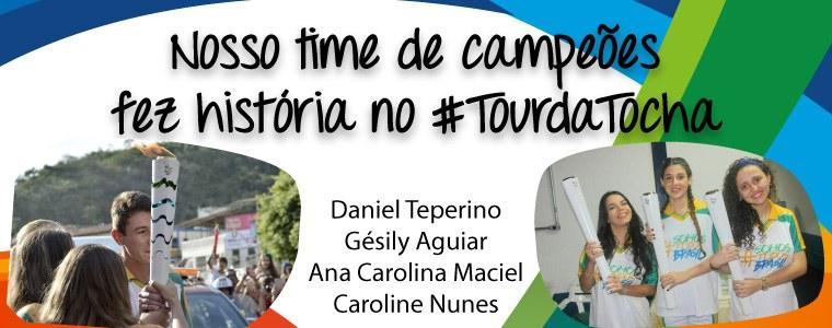Nosso time de campeões fez história no #tourdatocha
