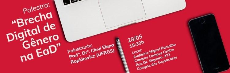 IFFluminense promove palestra sobre brecha digital de gênero na EaD