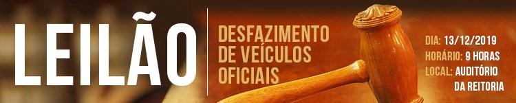 IFFluminense realiza Leilão de Veículos 2