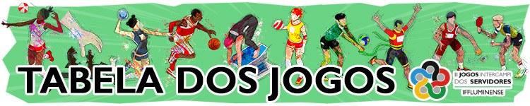 II Jics - Tabela de Jogos 2