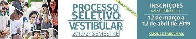 Inscrições abertas para Cursos Técnicos e de Graduação no IFF