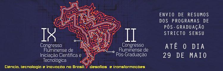 Inscrições abertas para o II Congresso Fluminense de Pós-graduação