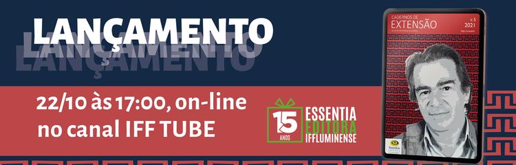 Lançamento do 5º volume da revista Cadernos de Extensão do Instituto Federal Fluminense 1