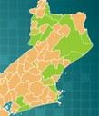 Mapa dos Campi