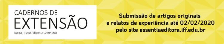 Revista Cadernos de Extensão do IFFluminense está aberta à submissão de trabalhos 2
