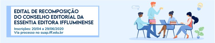 Servidores do IFF podem se candidatar ao Conselho Editorial da Essentia 2
