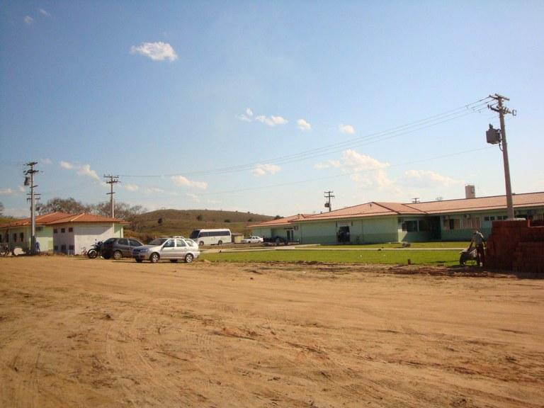 Itaperuna - Início das aulas na fase de implantação do campus - 2009