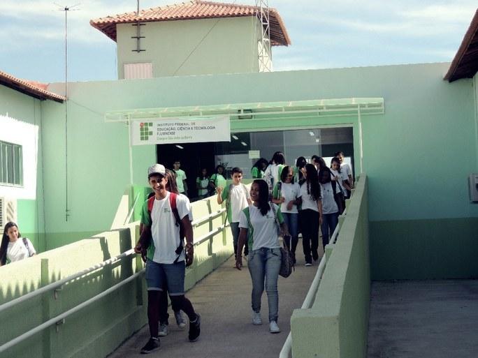 São João da Barra - alunos do campus