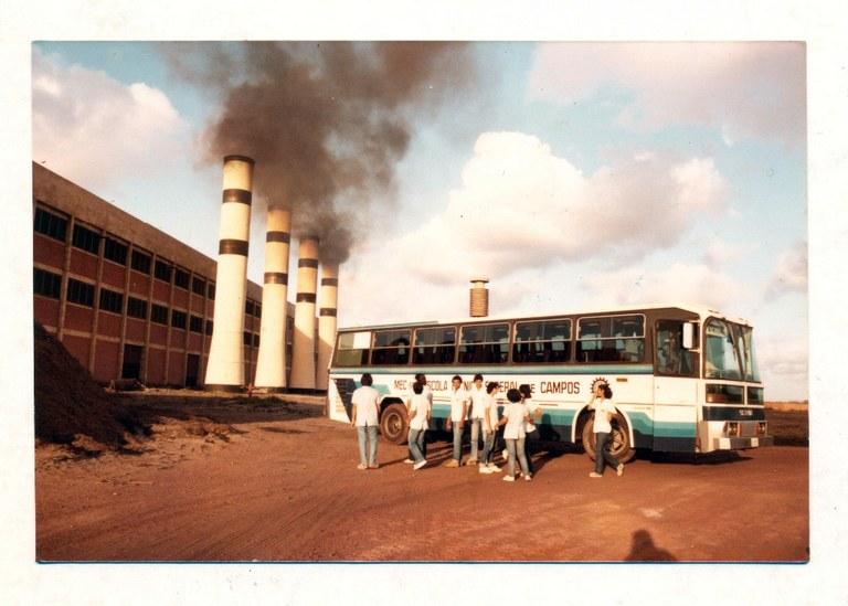 Visita Técnica de alunos de Química à Usina São João - 1970